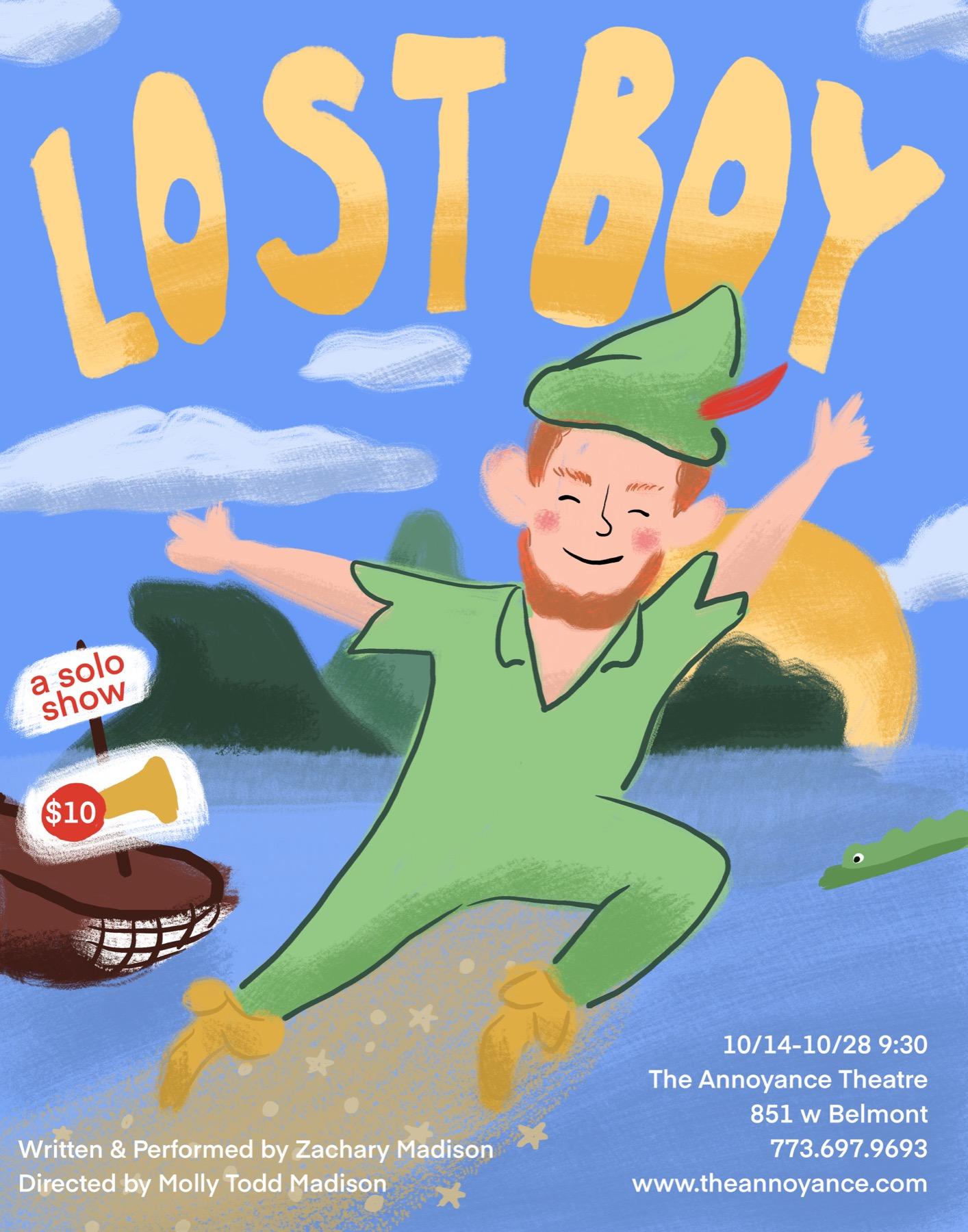 Lost Boy: A Solo Show
