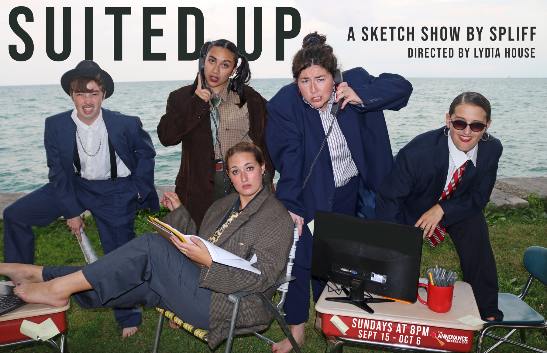 Suited Up- a Sketch Show by SPLIFF