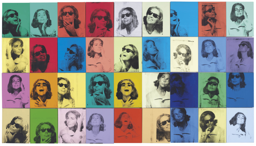 Andy Warhol. Ethel Scull 36 Times, 1963. Whitney Museum of American Art, New York; jointly owned by the Whitney Museum of American Art and The Metropolitan Museum of Art; gift of Ethel Redner Scull. © 2019 The Andy Warhol Foundation for the Visual Arts, Inc. / Artists Rights Society (ARS), New York.