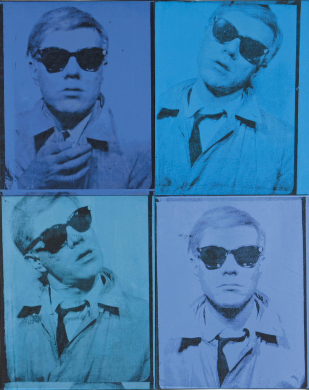 Andy Warhol. Self-Portrait, 1963–4. Cingilli collection. © 2019 The Andy Warhol Foundation for the Visual Arts, Inc. / Artists Rights Society (ARS), New York.