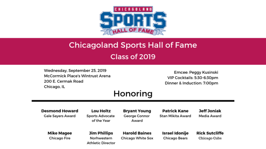 Chicagoland Sports Hall of Fame Induction Ceremony