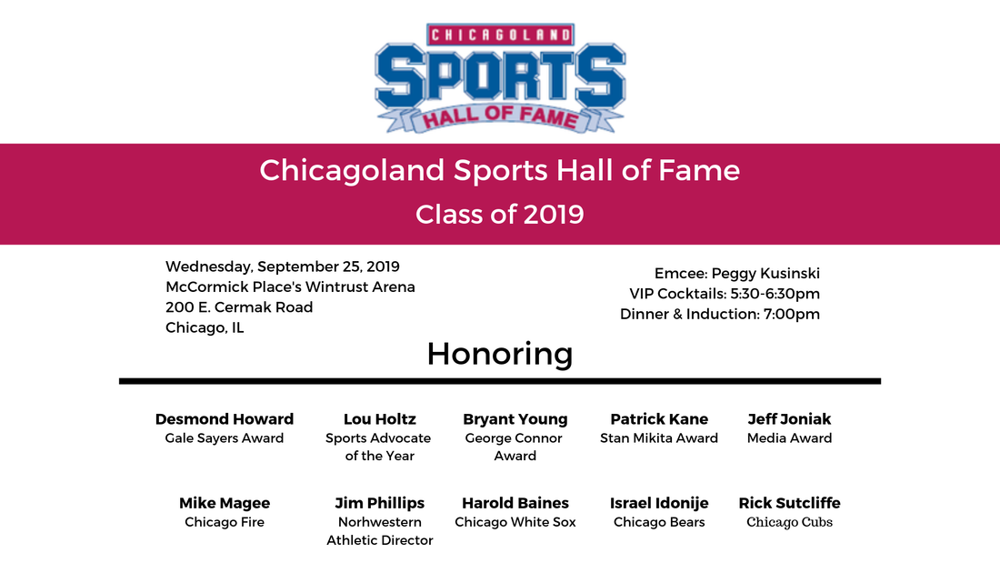 Chicagoland Sports Hall of Fame 2019