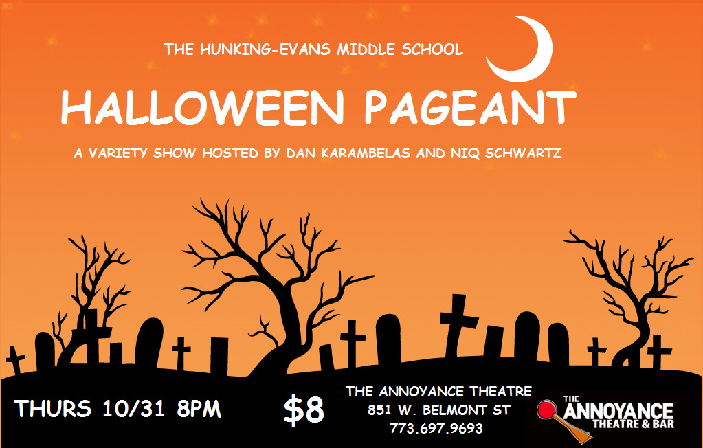 The Hunking-Evans Middle School Halloween Pageant
