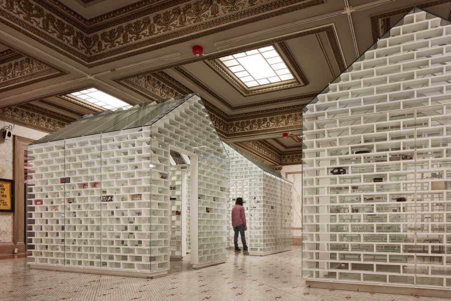 Chicago Architecture Biennial installation 2019