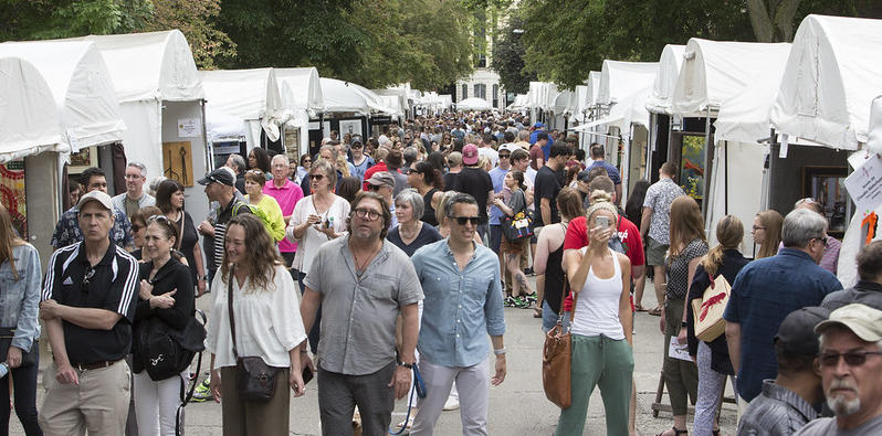 June 2020 Chicago Events.Old Town Art Fair 06 13 2020 Choose Chicago