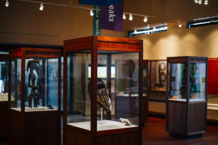 DuSable Museum exhibit