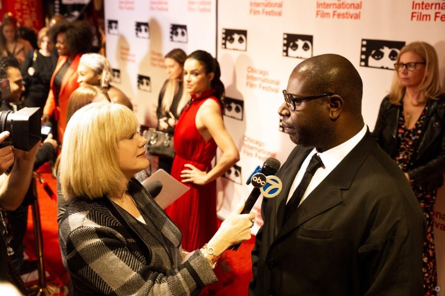 Chicago International Film Festival red carpet