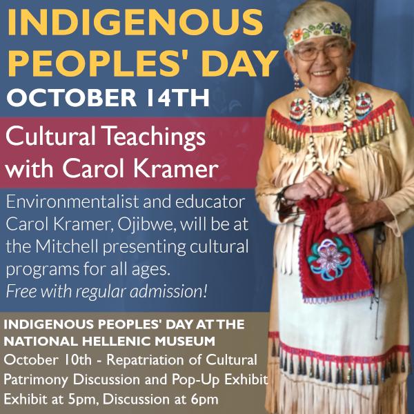 Indigenous Peoples' Day Cultural Teachings