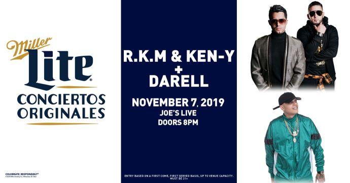 R.K.M & Ken-Y + Darell