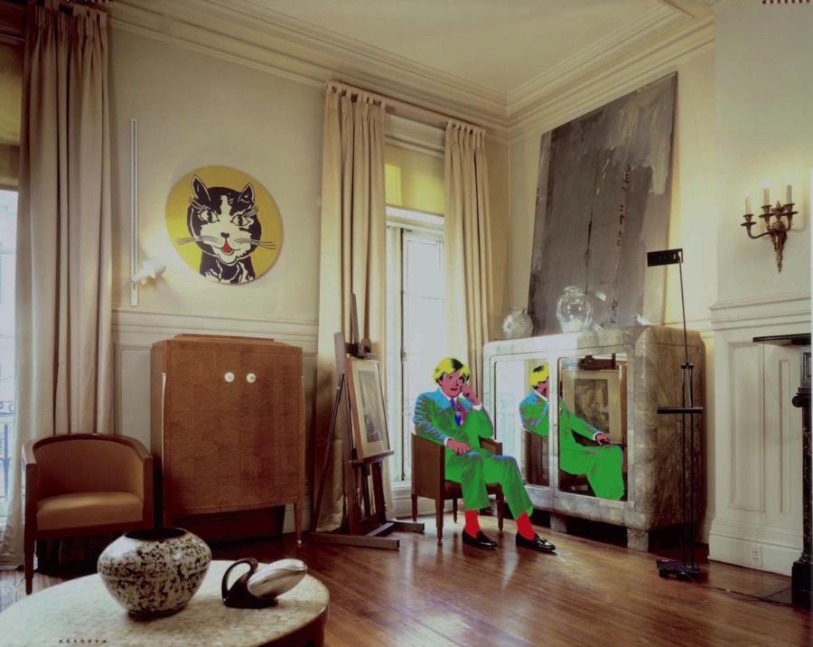 Warhol Living Room 1987