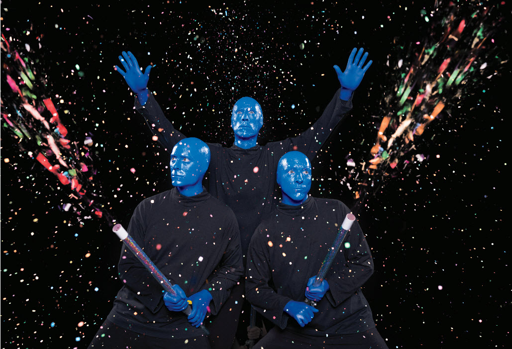 Blue Man Group Chicago New Year's Eve Performances