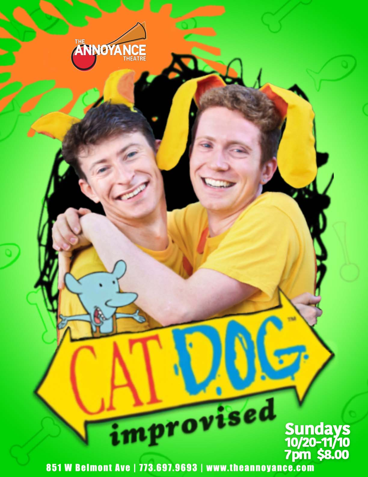 Improvised CatDog