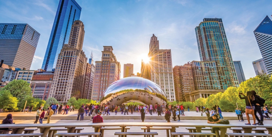 For the Third Consecutive Year, Condé Nast Traveler Names Chicago as Best Large City to Visit
