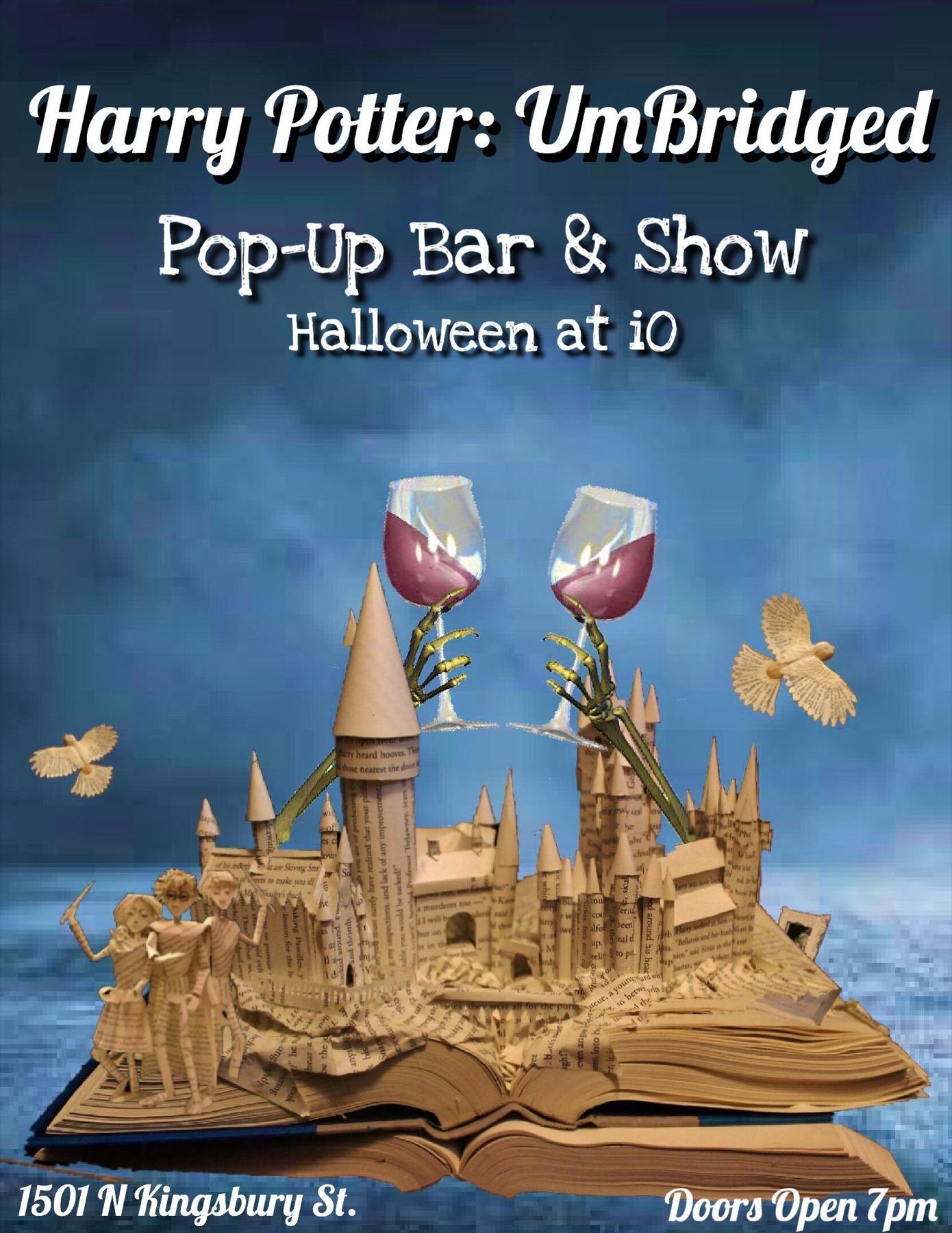 Harry Potter: UMbridged – A Pop-Up Bar & Show