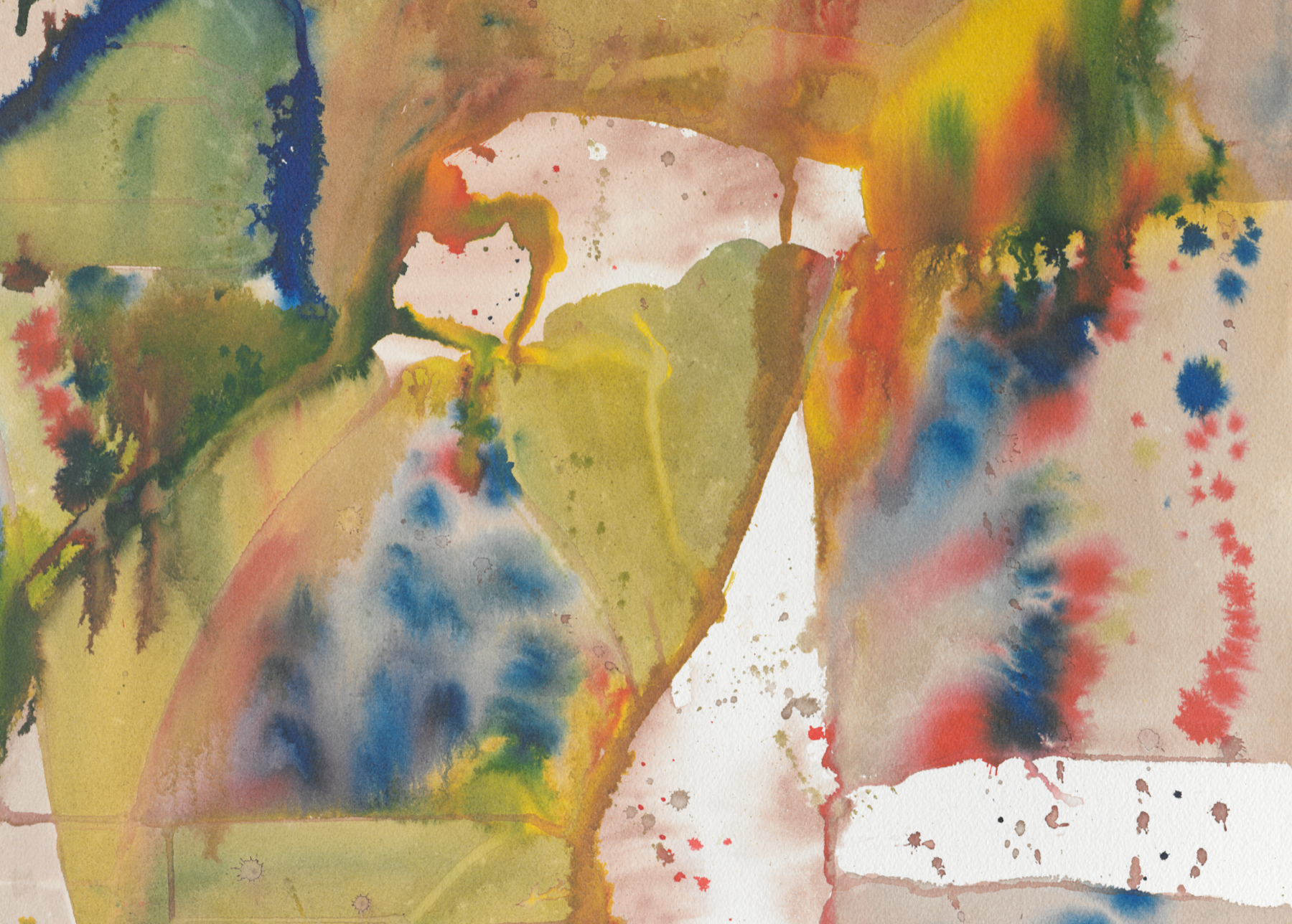 A.R. Ammons: Watercolors Exhibition Opening