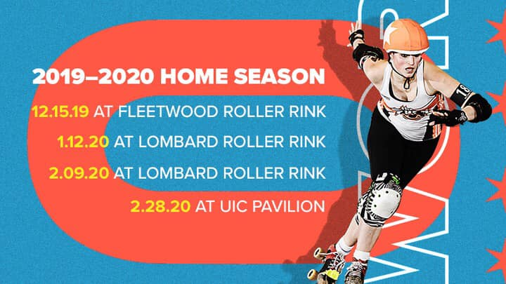 Windy City Rollers Home Team Double Header