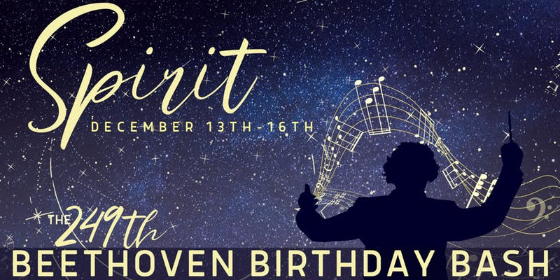 249th Beethoven Birthday Bash