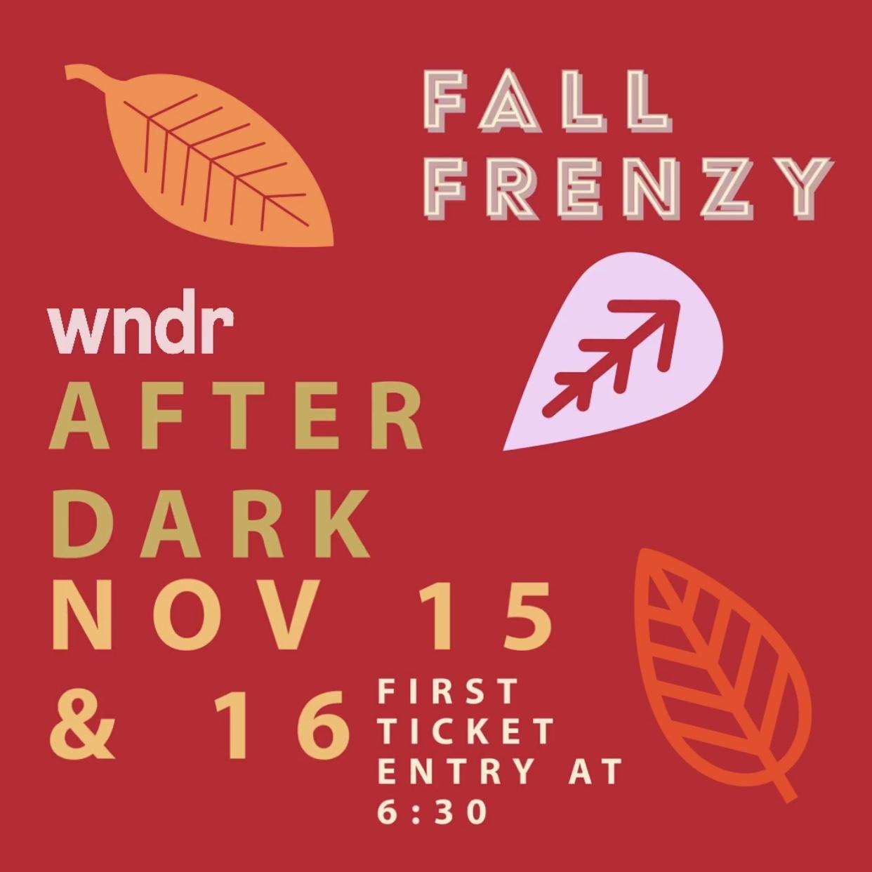 wndr After Dark: Fall Frenzy