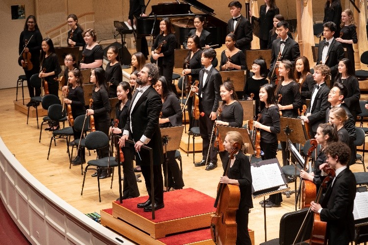 Chicago Youth Symphony Orchestras' Fall Performance