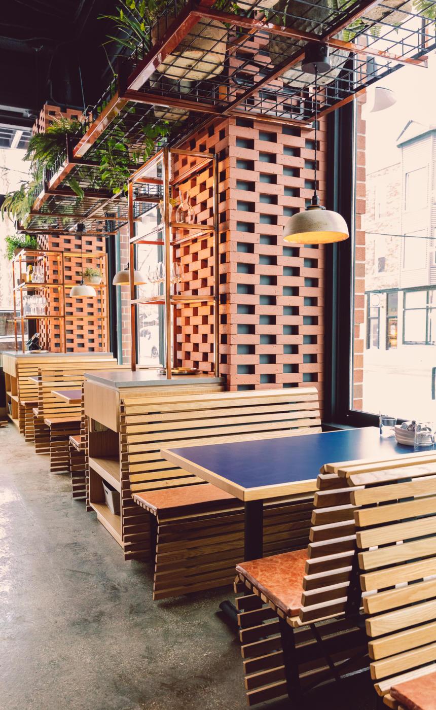 Interior of Andros Taverna