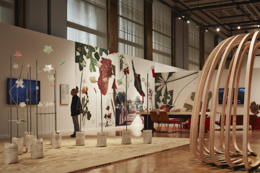 An exhibit at the Chicago Architecture Biennial 2019/2020