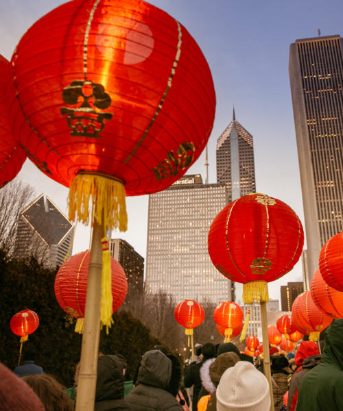 Lunar New Year Lantern Procession and Celebration
