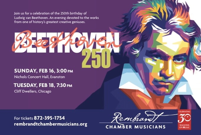 Beethoven's 250th Birthday Celebration