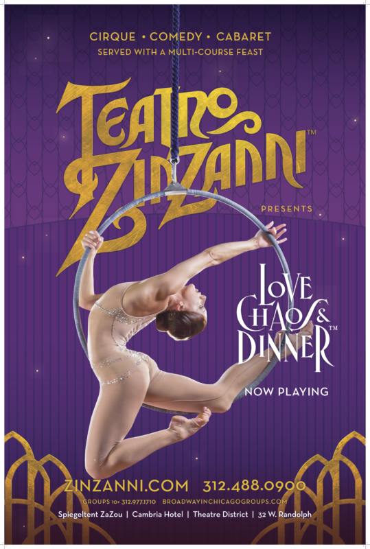 Teatro ZinZanni: Love, Chaos, & Dinner