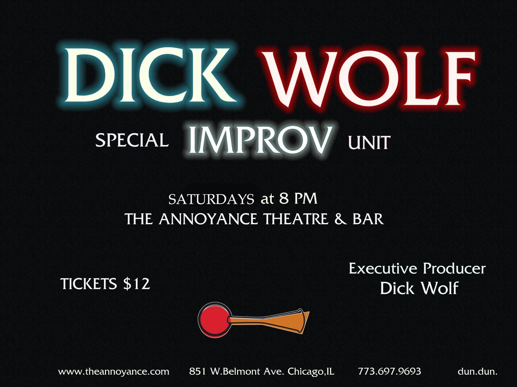 Dick Wolf Improv