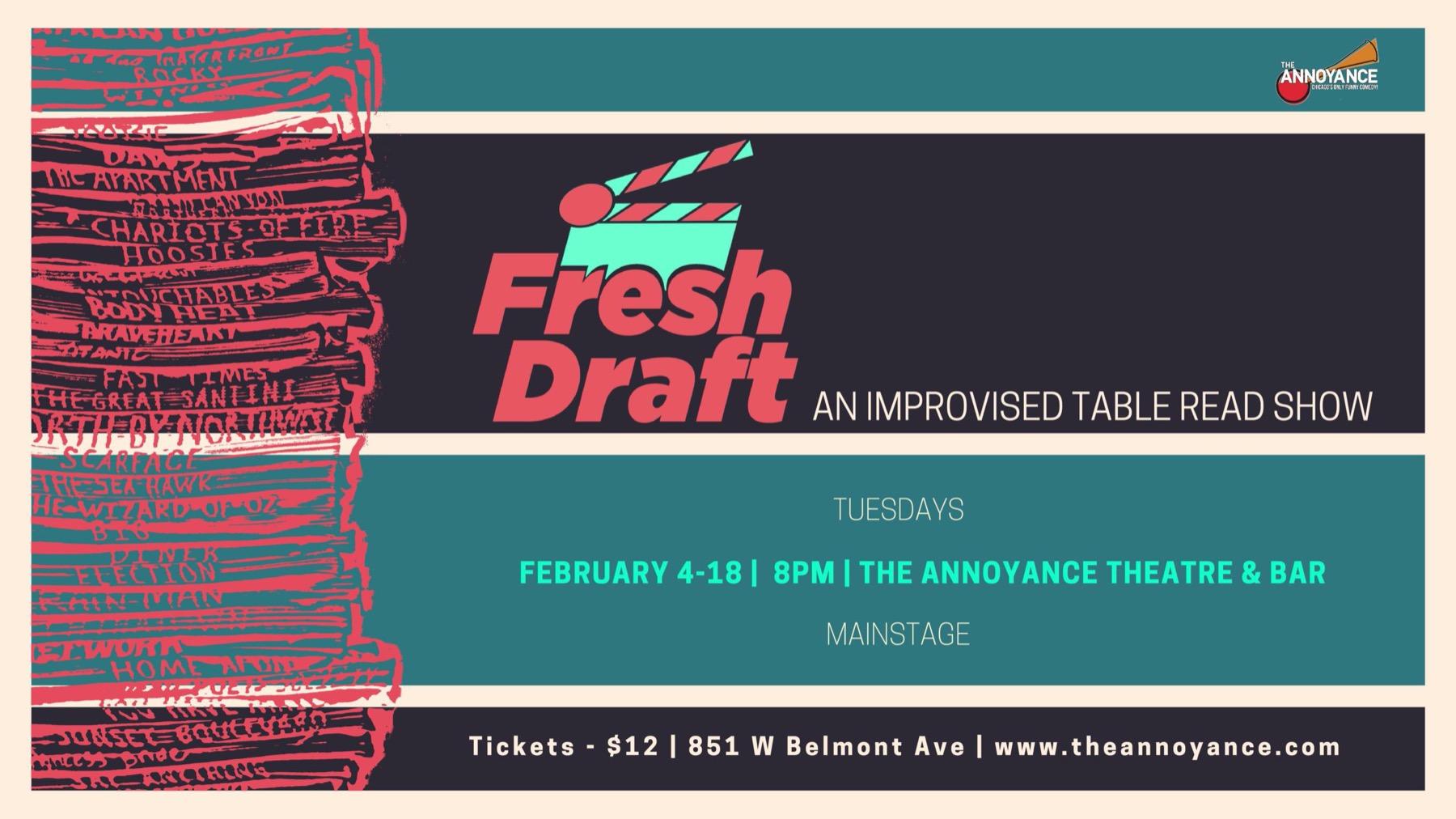 Fresh Draft – Improv