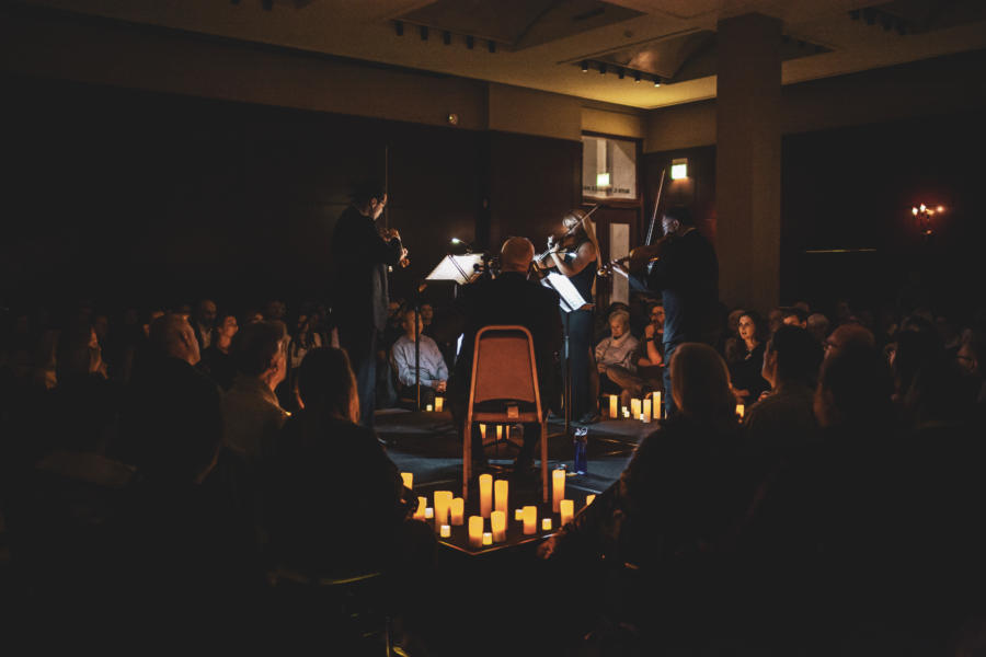 Newberry Library Classical Candlelight concert