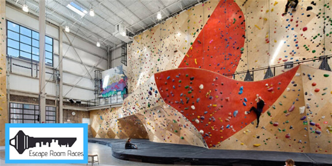 Escape Rooms and Rock Climbing at Brooklyn Boulders