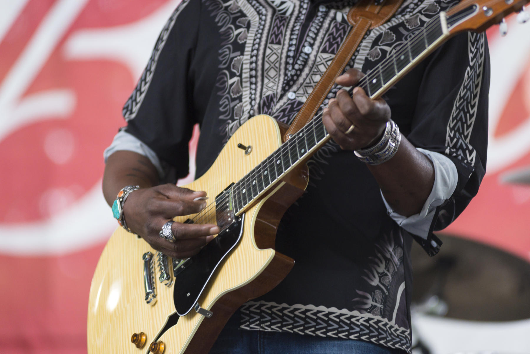 DCASE Blues Music Festival Blues Fest 2018 in Millennium Park Budweiser Crossroads Stage Joe Louis Walker performance