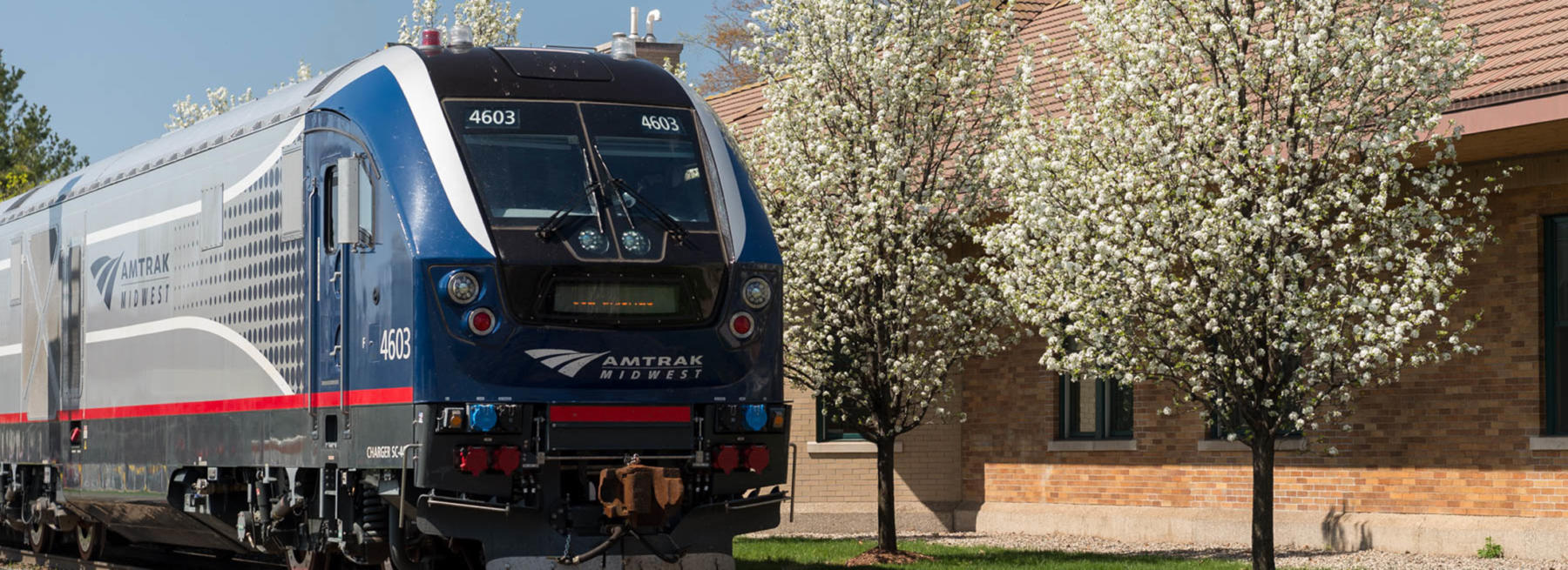 All aboard Amtrak to Chicago