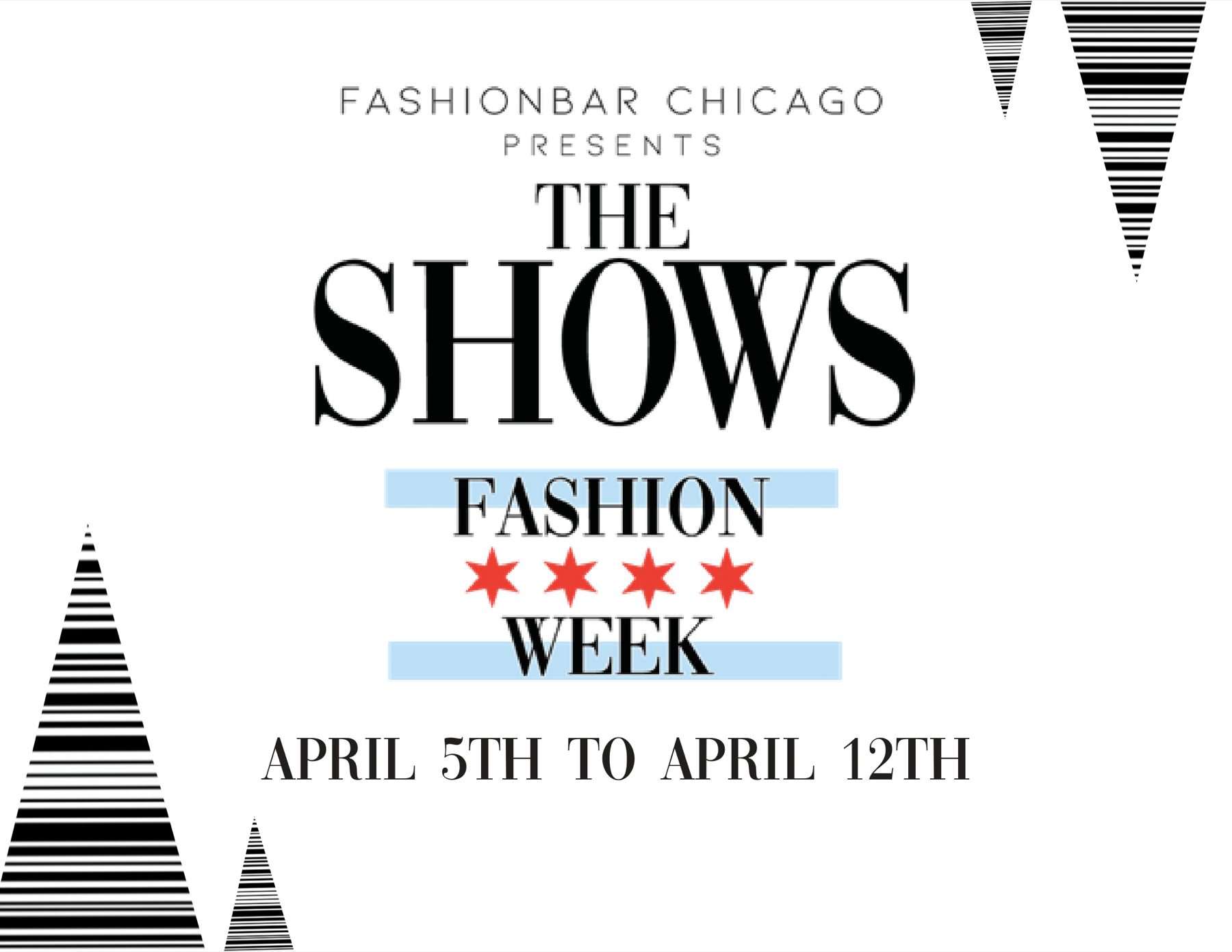 THE SHOWS APRIL 2020 – Chicago Fashion Week pwrd by FashionBar Chicago