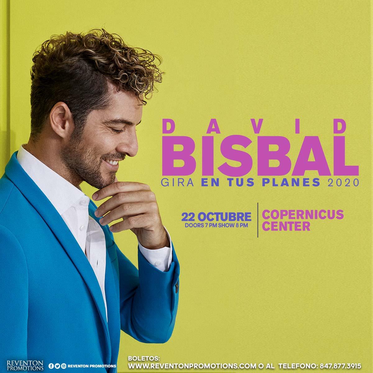 David Bisbal en Concierto en Chicago