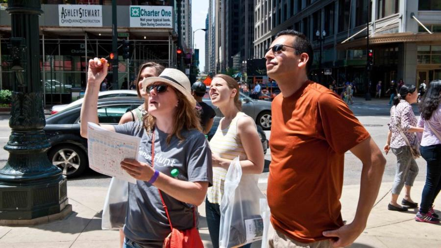 Chicago Architectural Center Scavenger Hunt