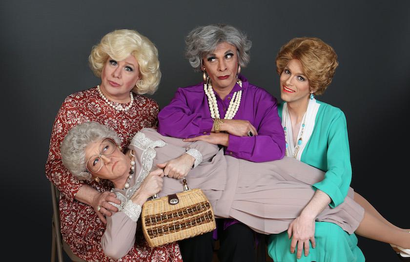 The cast of Hell in Handbag - Golden Girls