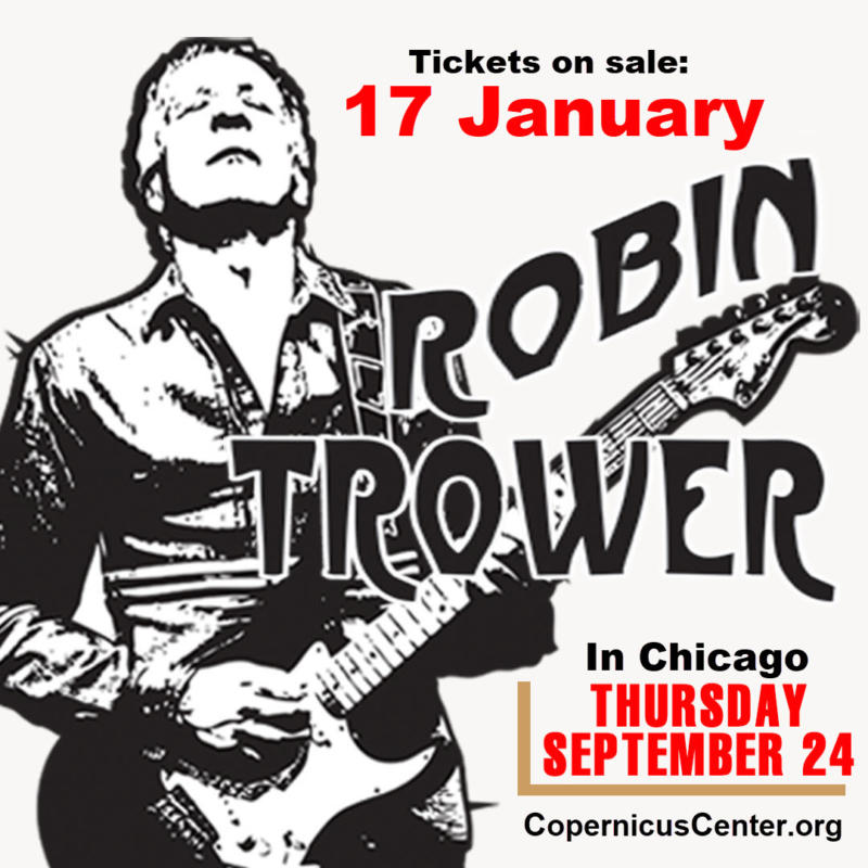 Robin Trower Tour – Coming Closer to The Day