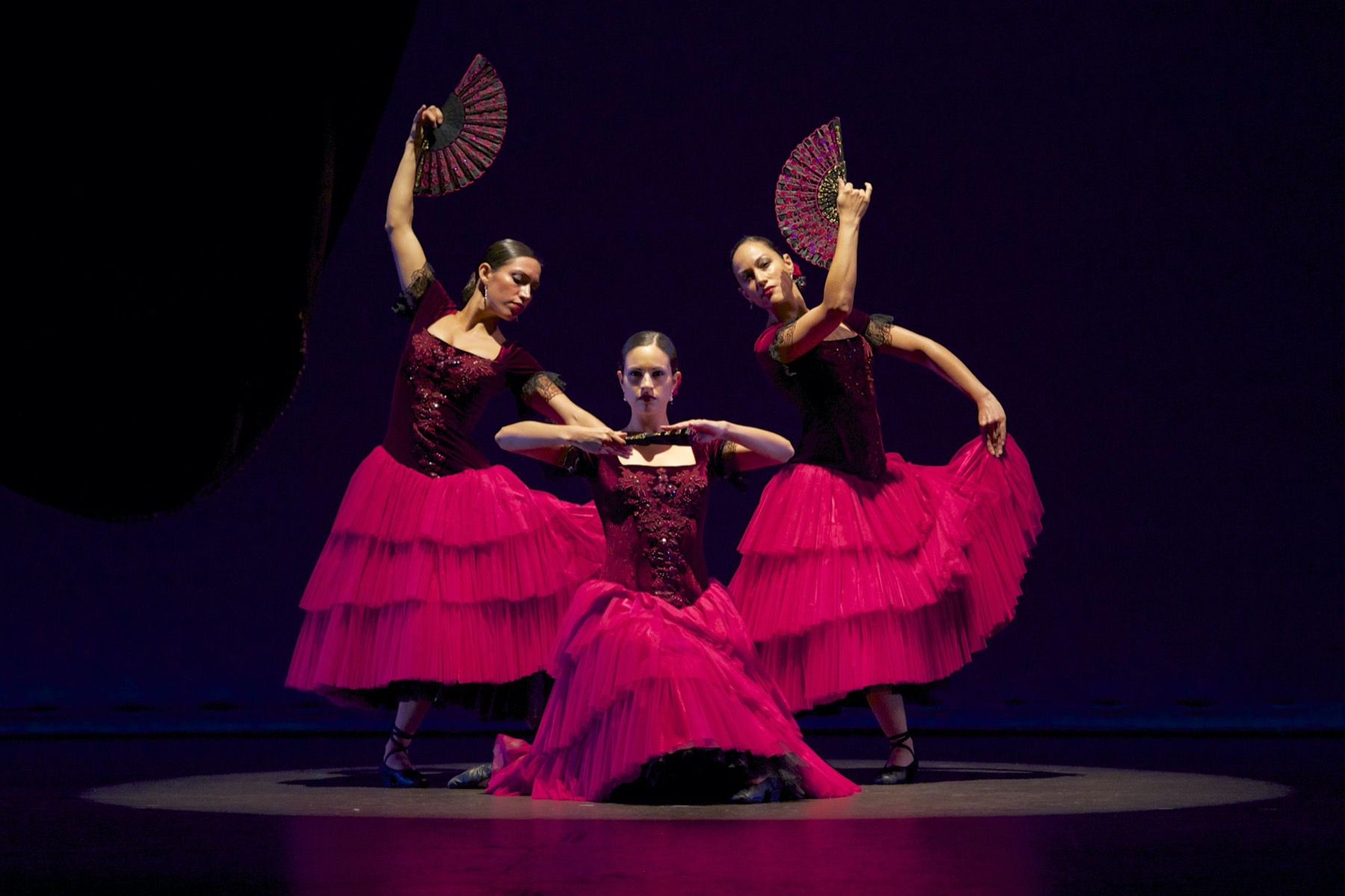 At Home With the Auditorium: Ensemble Espanol Spanish Dance Theater