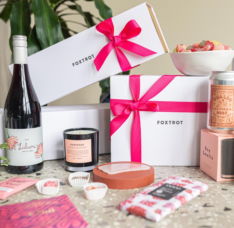 Foxtrot Market gift box