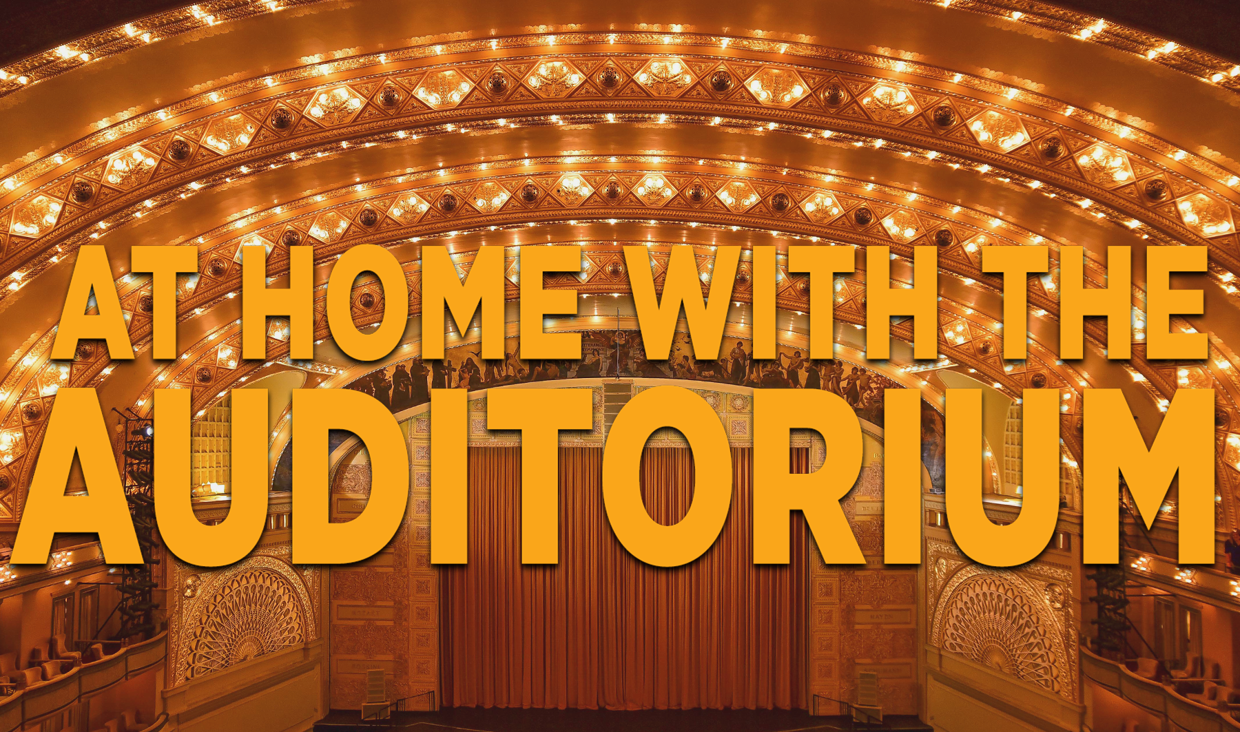 At Home With the Auditorium: Joan Curto