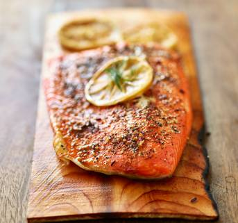 The Chopping Block Virtual Cooking Demo on the Patio: Cedar-Planked Salmon