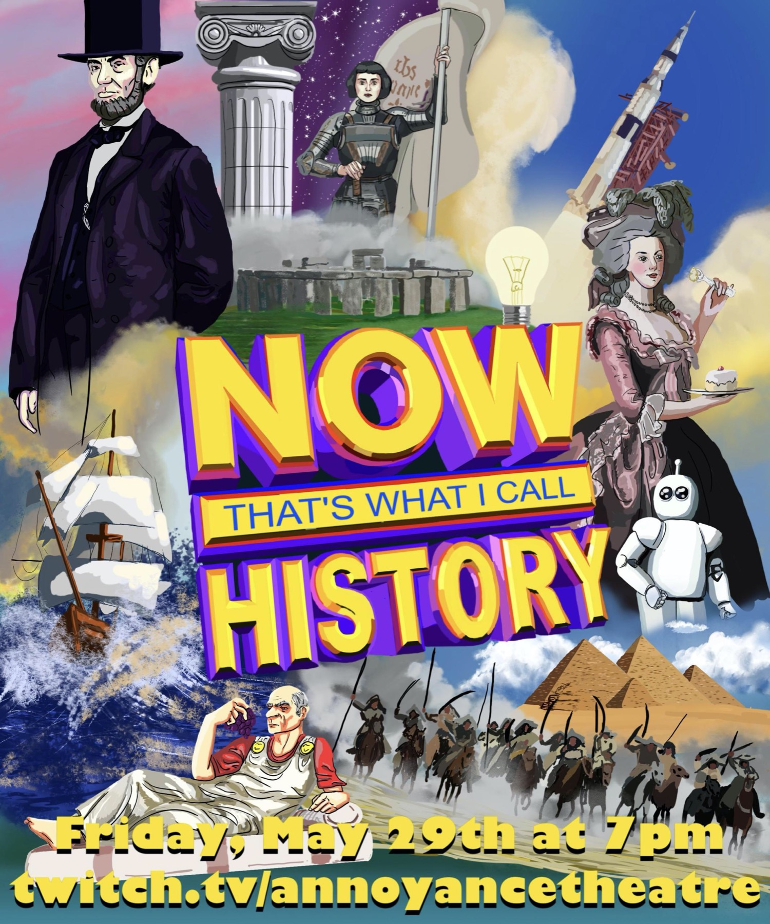 NOW THAT'S WHAT I CALL HISTORY