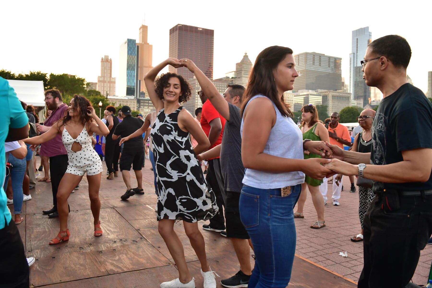 Summer Dance at Taste of Chicago