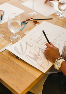 Travelle At The Langham Presents Virtual Calligraphy Workshop