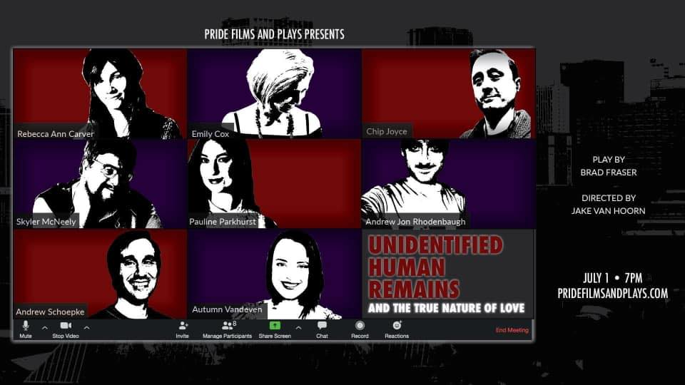 Virtual Staged Reading of Unidentified Human Remains and the True Nature of Love