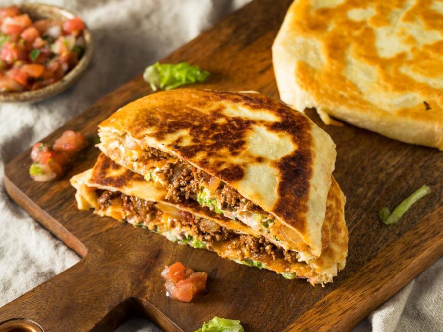 The Chopping Block Virtual Family Night Cook Along: Turkey, Black Bean and Cheese Crunchwraps