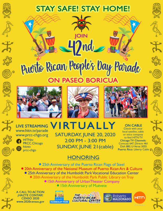 42nd Annual Puerto Rican People's Day Parade Goes Virtual