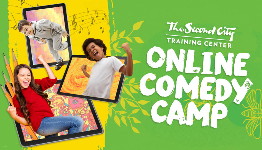 Online Comedy Camps with The Second City